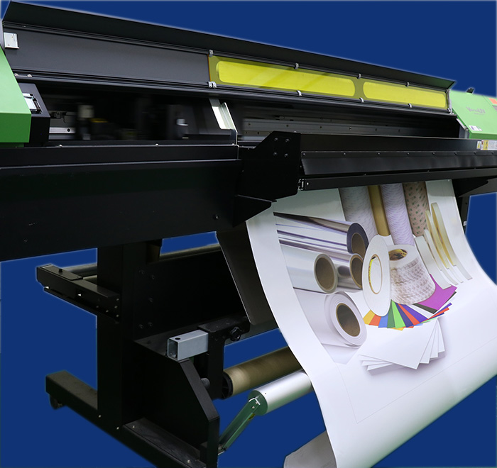 Precision Die Cut and & Slitting Sheeting Device Image