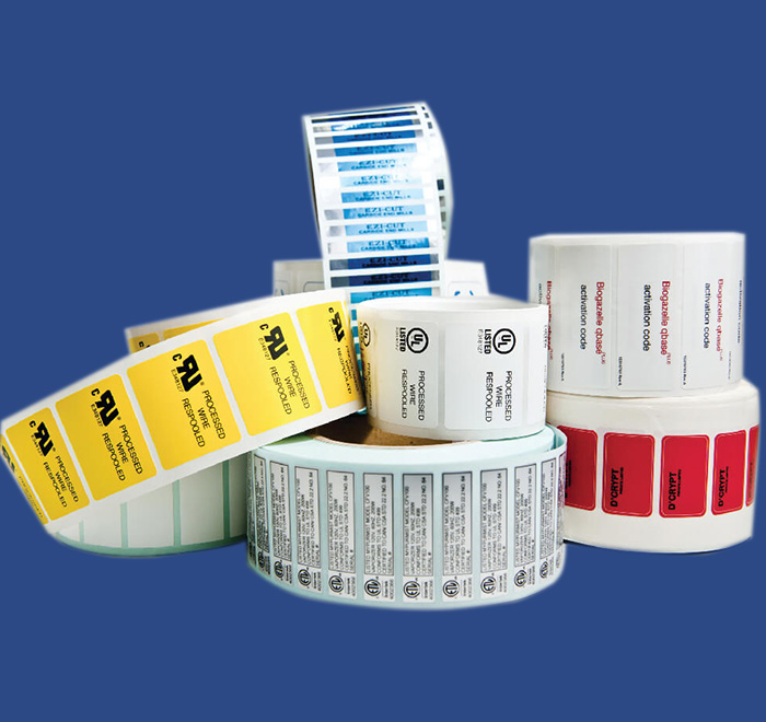 Variable Serial Labels & Stickers